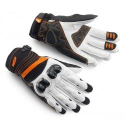 KTM Rękawice RADICAL X białe