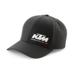 KTM Czapka z daszkiem RACING BLACK CAP