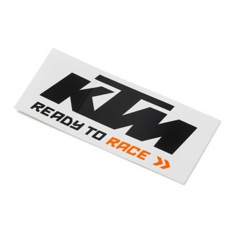 KTM Naklejka LOGO , black-white