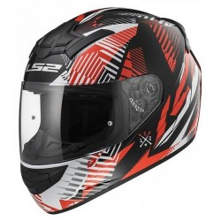 LS2 Kask FF352 Rookie Infinitive red