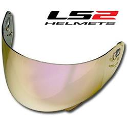 LS2 Szyba do kasku Iridium Gold-5703