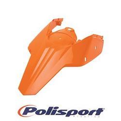 PS Błotnik tył do KTM EXC pomarańczowy '08-11-1294