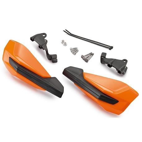 KTM Osłony rąk kpl z mocowaniami , pomarańczowe-4044